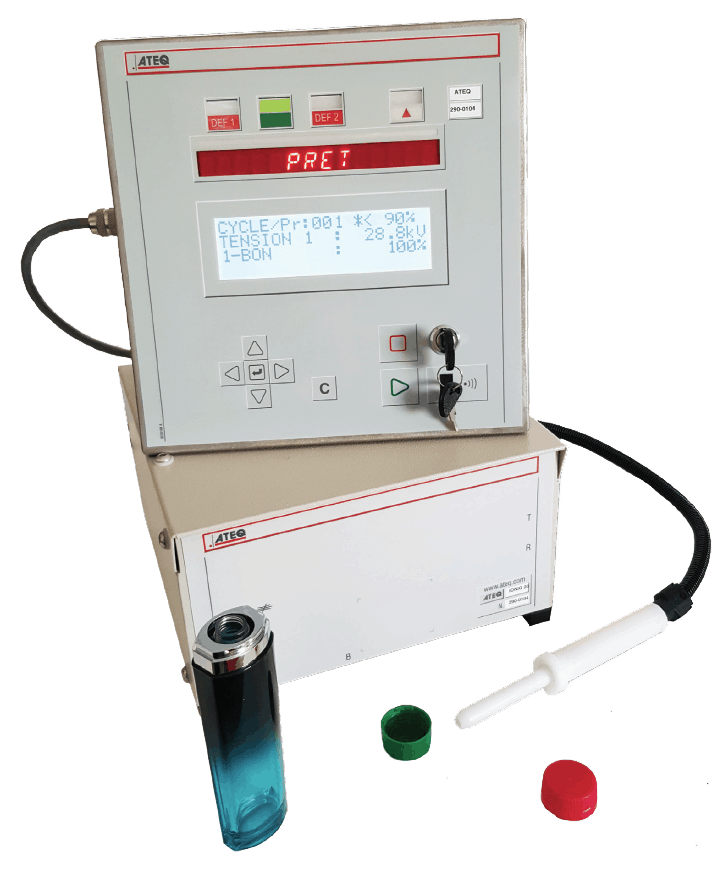 Electrical Leakage Tester : Ionic electrical leak tester for high volume plastic